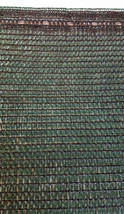 Тъмнозелена мрежа за сянка Рафия - 80% засенчване